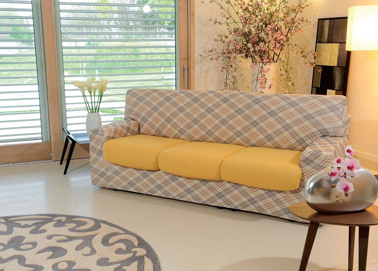 Copridivano genius fantasia vision g l g store - Copridivano per divani reclinabili ...