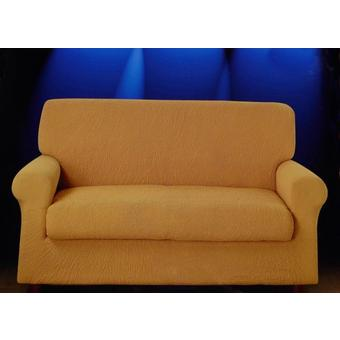 Copricuscino per divano 2 posti genius tinta unica g l - Copridivano per divano in pelle ...