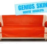 COPRIDIVANO 3 POSTI – Genius SKIN (eco-pelle)