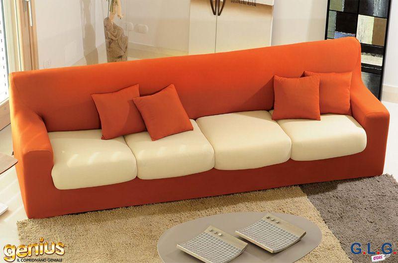 Copridivano genius xl 4 posti per divani fino a 3 mt g - Copridivano chaise longue bassetti ...