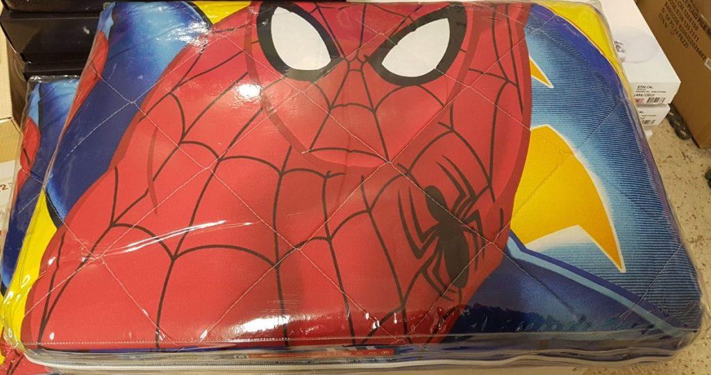 Copriletto Trapuntato - Trapuntino Spiderman novia