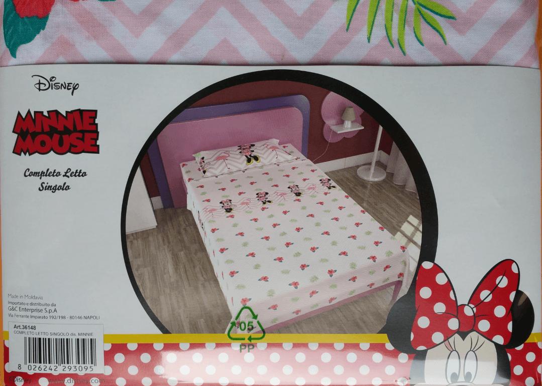 Completo Lenzuola Minnie Disney