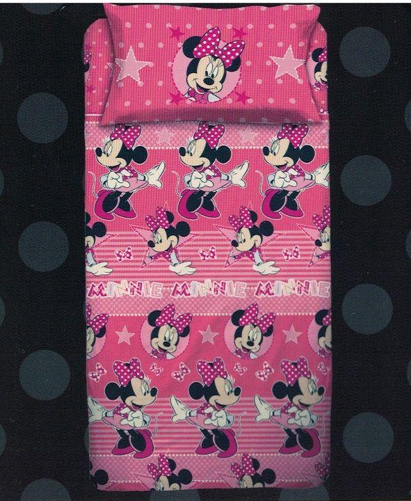 Completo Lenzuola Minnie Disney (1 Posto e 1 Posto Mezzo)