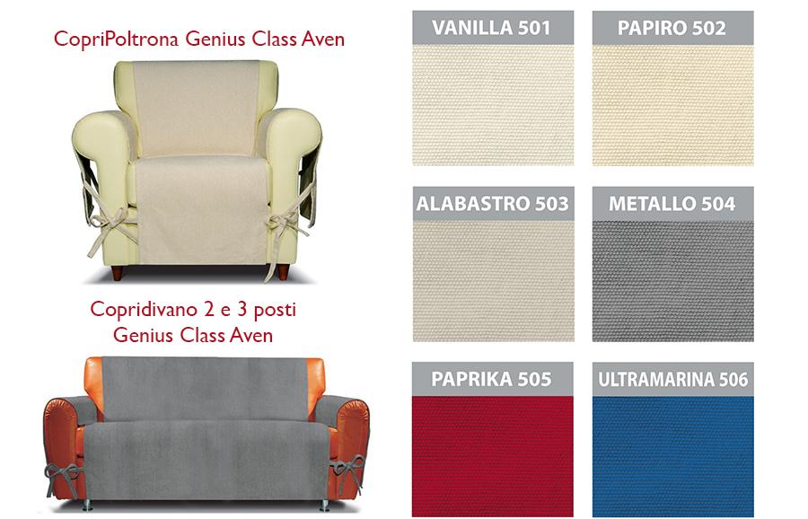 Copridivano genius class salva divano in puro cotone g - Copridivano 3 posti genius ...