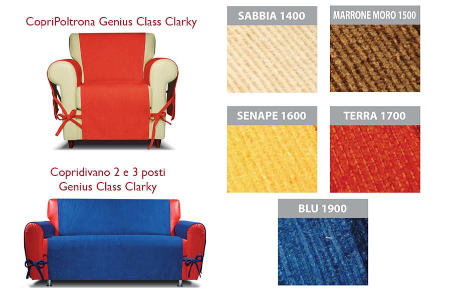 Copridivano genius class salva divano in puro cotone g l g store - Copridivano 2 posti senza braccioli ...