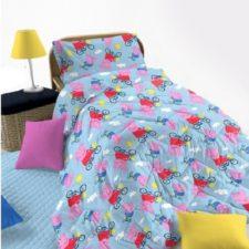 Trapunta Peppa Pig Originale (Rosa e Azzurra)