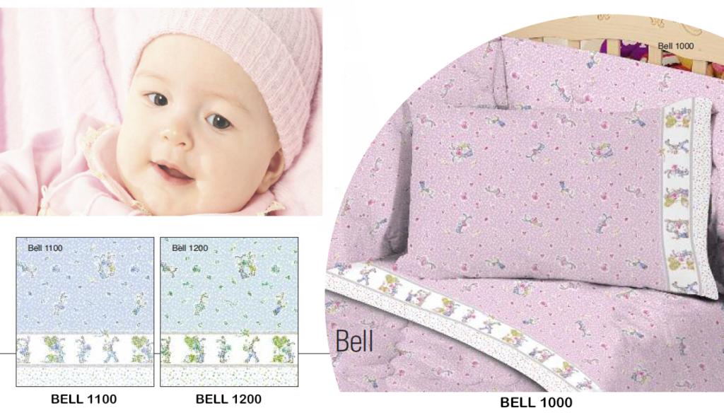 Lenzuola Culla Biancaluna Nursery bell