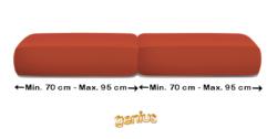 Coppia CopriCuscino Genius Maxi (da 70 a 95cm | Tinta Unica)