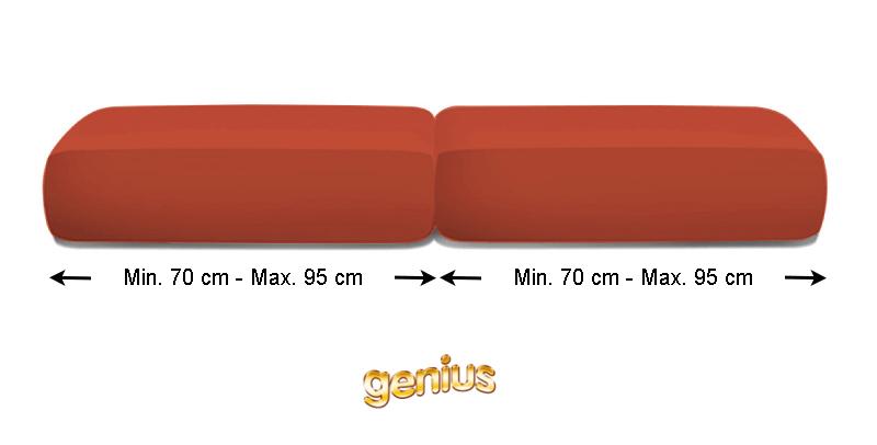 Coppia CopriCuscini Genius Maxi