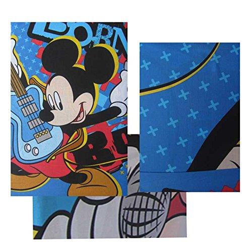 Completo lenzuola Topolino Mickey Mouse - Mickey Rock - Disney