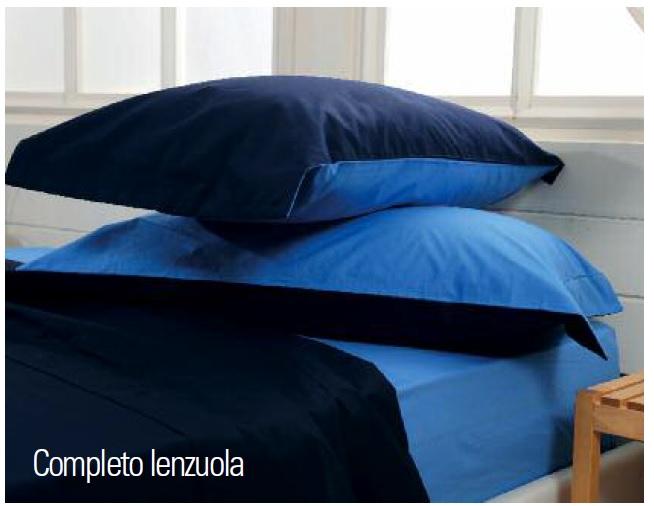 Completo Lenzuola Biancaluna Cameo