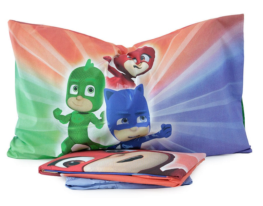 Completo lenzuola pj masks letto singolo g l g store - Completo letto pj masks ...