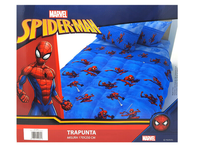 Trapunta Piumone Spiderman Marvel Invernale