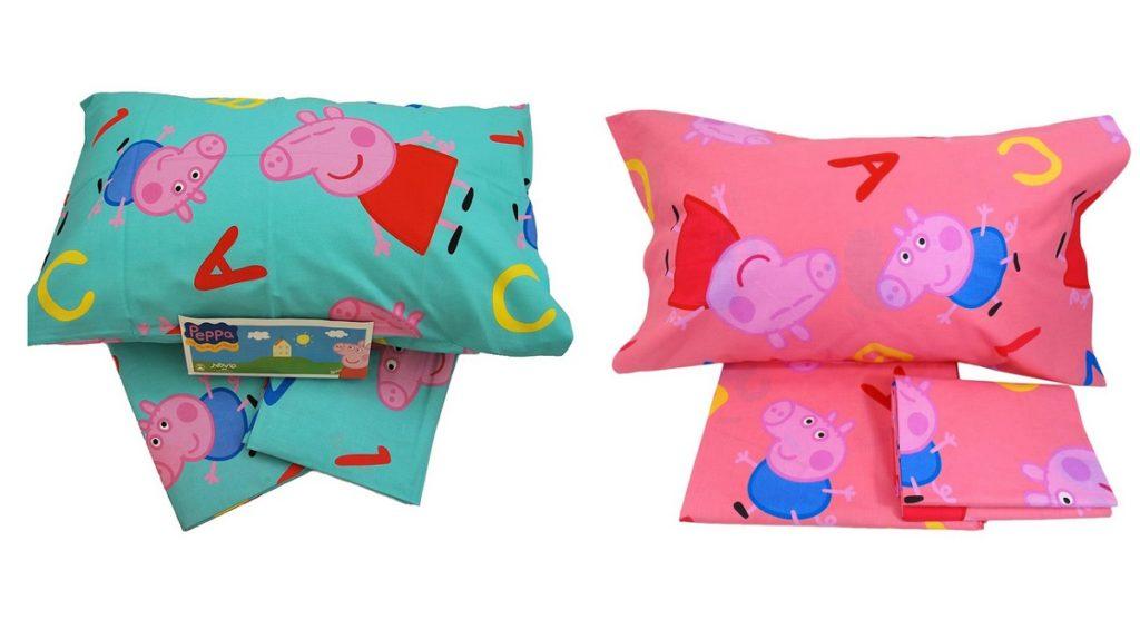 Lenzuola Di Peppa Pig.Completo Lenzuola Peppa Pig Novia Italia Letto Singolo G L G Store