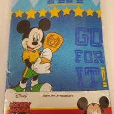 Completo Lenzuola Topolino Mickey Mouse & Friends