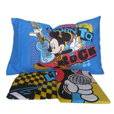Completo Lenzuola Topolino Rock 1 Posto Disney