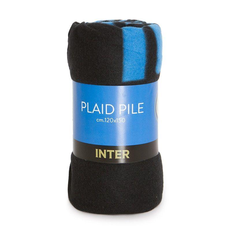 Plaid in pile F.C. Inter ufficiale 120x150 cm
