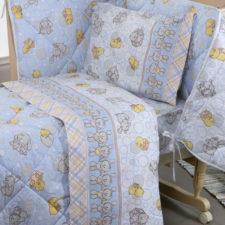 Lenzuola Culla Biancaluna Nursery Duccio (Cotone e Flanella)