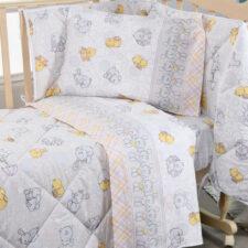 Lenzuola Culla Biancaluna Nursery Duccio (Cotone)