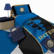 CopriLetto Trapuntato Trapuntino 100gr. Inter Ufficiale