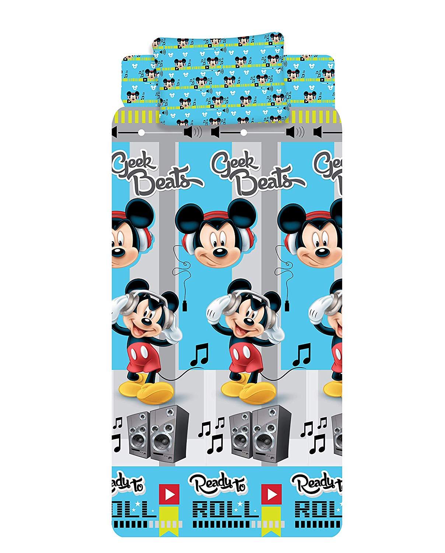 Completo Lenzuola Topolino 1 Posto Mezzo Disney