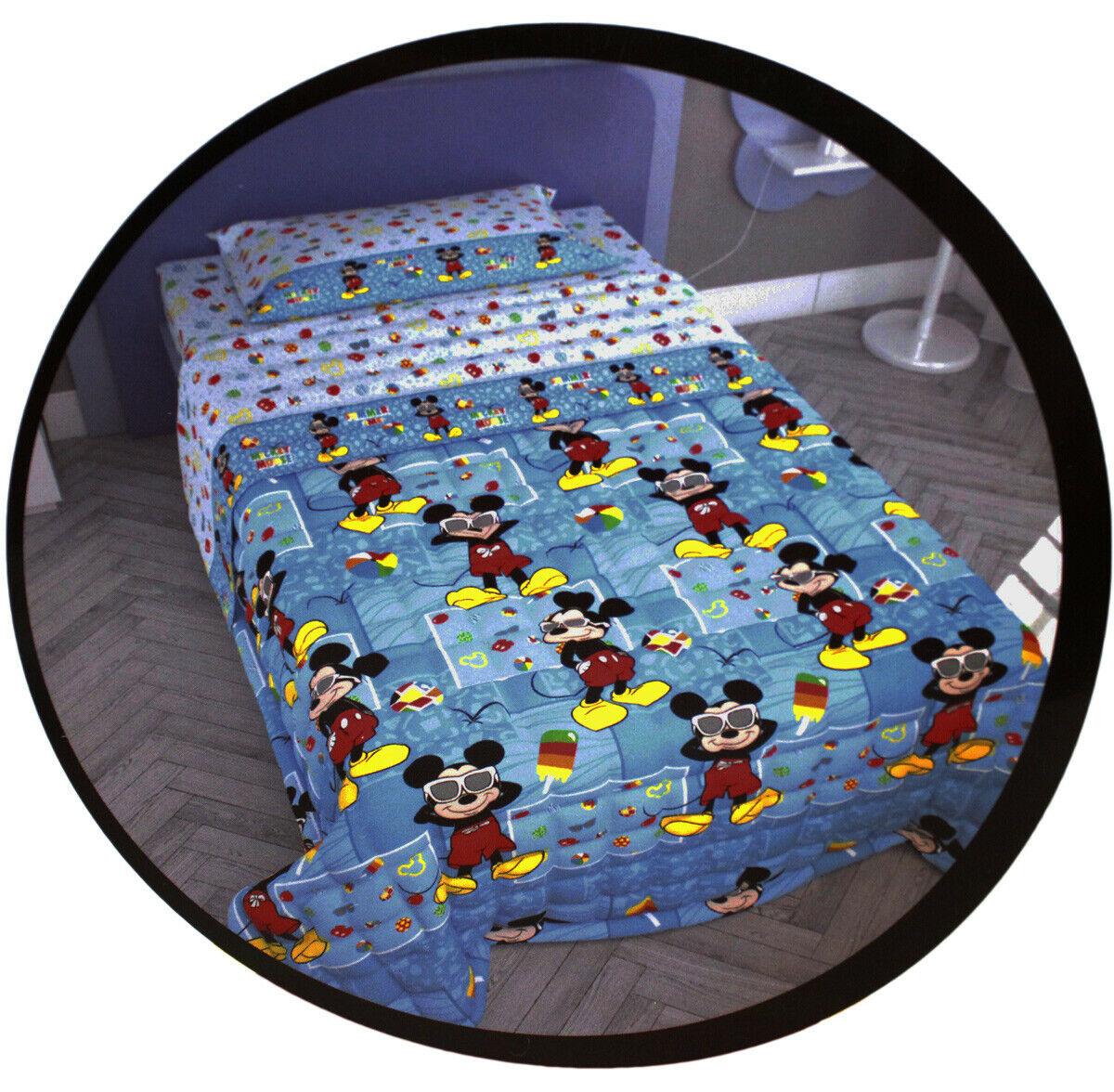 CopriLetto Trapuntato Trapuntino Topolino Disney (100 gr.)