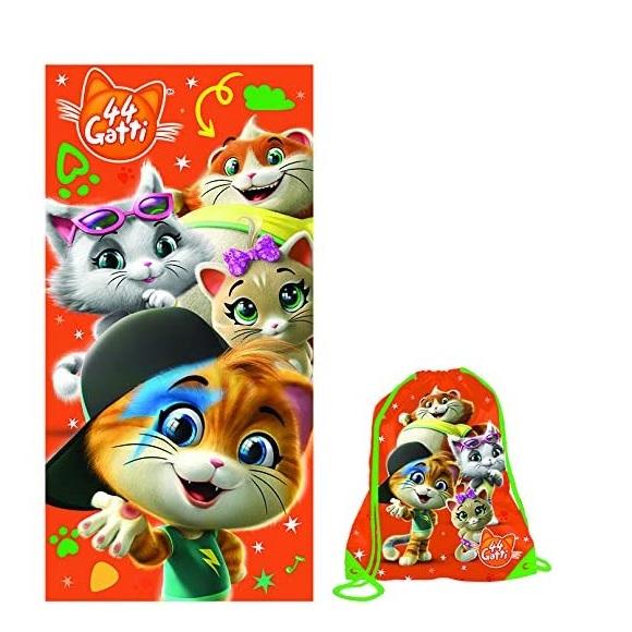 Sacca + Telo Mare 44 Gatti Originali