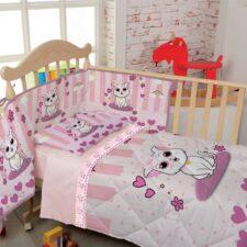 Lenzuola Culla Biancaluna Nursery Miss Terry Lelly